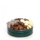 2Lb. Gift Tin Chocolate 4 Flavor Sampler